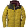 turmeric/forest - Outdoor Research - Men's Transcendent Down Hoody