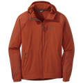burnt orange - Outdoor Research - Men's Ferrosi Hooded Jacket