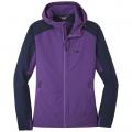 purple haze/naval blue - Outdoor Research - Women's Ferrosi Hooded Jacket