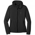 black - Outdoor Research - Women's Ferrosi Hooded Jacket