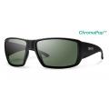 Matte Black ChromaPop+ Polarized Gray Green - Smith Optics - Guides Choice