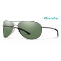 Gunmetal Chromapop Polarized Gray Green - Smith Optics - Serpico 2