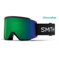 Black / Chromapop Sun Green Mirror - Smith Optics - SQUAD XL