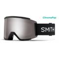 Black / Chromapop Sun Platinum Mirror - Smith Optics - SQUAD XL