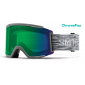 Cloudgrey / Chromapop Everyday Green Mirror - Smith Optics - SQUAD XL