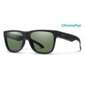 Matte Black-Chromapop Polarized Gray Green - Smith Optics - Lowdown 2