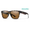 Matte Tortoise-Chromapop Polarized Brown - Smith Optics - Lowdown 2