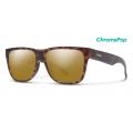 Matte Tortoise-Chromapop Polarized Bronze Mirror - Smith Optics - Lowdown 2