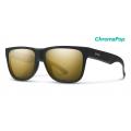 Matte Black Gold-Chromapop Polarized Black Gold - Smith Optics - Lowdown 2