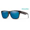 Vintage Tort-Chromapop Blue Mirror - Smith Optics - Lowdown 2