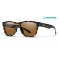 Matte Tortoise-Chromapop Polarized Brown - Smith Optics - Lowdown Slim 2