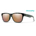 Camo Tort-Chromapop Polarized Rose Gold Mirror - Smith Optics - Lowdown Slim 2