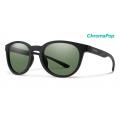 Matte Black-Chromapop Polarized Gray Green - Smith Optics - Eastbank