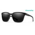 Matte Black-Chromapop Polarized Black - Smith Optics - Shoutout