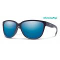 Matte Midnight-Chromapop Polarized Blue Mirror - Smith Optics - Monterey