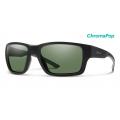 Matte Black-Chromapop Polarized Gray Green - Smith Optics - Outback