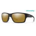 Matte Black-Chromapop Polarized Bronze Mirror - Smith Optics - Outback