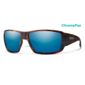 Matte Havana-Chromapop Glass Polarized Blue Mirror - Smith Optics - Guides Choice