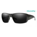 Charcoal-Chromapop Polarized Black - Smith Optics - Guides Choice