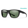 Matte Black-Chromapop Polarized Gray Green - Smith Optics - Barra