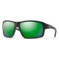Matte Black - ChromaPop Polarized Green Mirror - Smith Optics - Hookshot