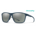 Matte Iron-Chromapop Polarized Platinum Mirror - Smith Optics - Pinpoint
