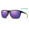 Black-Chromapop Violet Mirror - Smith Optics - Pinpoint