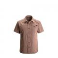 Rust - Black Diamond - Men's S/S Chambray Modernist Shirt