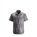 Nickel / Granite Plaid - Black Diamond - Men's S/S Technician Shirt
