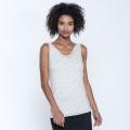 Egret Texture Print - Toad&Co - Women's Wisper Double Tank