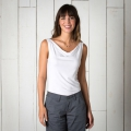 White - Toad&Co - Women's Wisper Double Tank