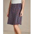 True Navy Floral Print - Toad&Co - Chaka Skirt