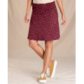 Port Painter's Floral - Toad&Co - Women's Chaka Skirt