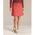 Hatch Chili Geo Floral Print - Toad&Co - Women's Chaka Skirt