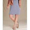 True Navy Stripe - Toad&Co - Women's Chaka Skirt