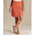 Poppy Airy Floral Print - Toad&Co - Women's Chaka Skirt