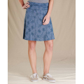 High Tide Airy Floral Print - Toad&Co - Women's Chaka Skirt