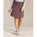 Raisin Stitch Print - Toad&Co - Women's Chaka Skirt