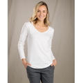 White - Toad&Co - Women's Marley LS Tee