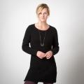 Black - Toad&Co - Kinley Sweater Tunic