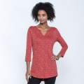Spiced Coral Geo Print - Toad&Co - Women's Tamaya Dos Tunic
