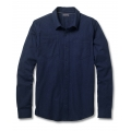 Deep Navy Heather - Toad&Co - Men's Flannagan Solid LS Shirt