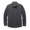 Charcoal Heather - Toad&Co - Men's Flannagan Solid LS Shirt