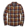 Dijon - Toad&Co - Men's Indigo Flannel LS Shirt Slim