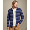 Medium Indigo Horizontal Stripe - Toad&Co - Men's Indigo Flannel LS Slim Shirt