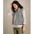 Grey Heather - Toad&Co - Women's Sheridan Sherpa Vest