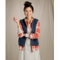 Nightsky Heather - Toad&Co - Women's Sheridan Sherpa Vest