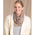 Falcon Brown Houndstooth - Toad&Co - Women's Namche Scarf