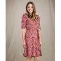 Redwood Yard Sale Print - Toad&Co - Women's Cue Wrap Cafe Dress