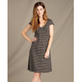 Cocoa Stripe Print - Toad&Co - Women's Rosemarie Dress